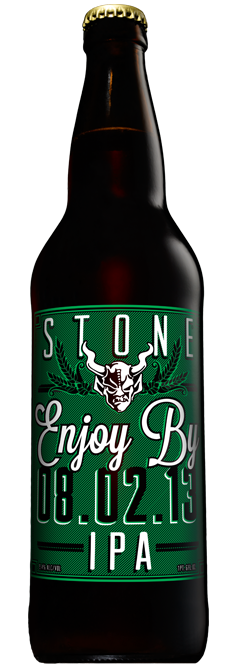 Best IPAs to Drink on IPA Day - STONE ENJOY BY IPA (8.02.13)