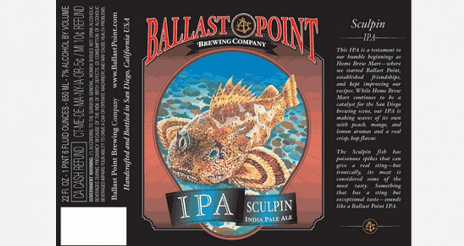 Best IPAs to Drink on IPA Day - ballast point