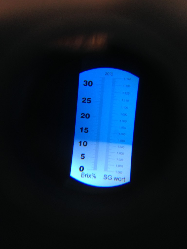 how to take a sample for hydrometer reading